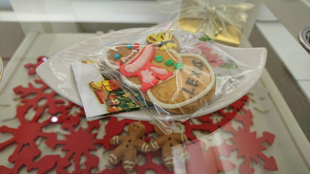 クリスマス仕様のクッキー